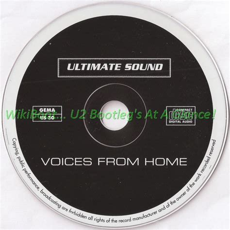 u2 cd live voices from home