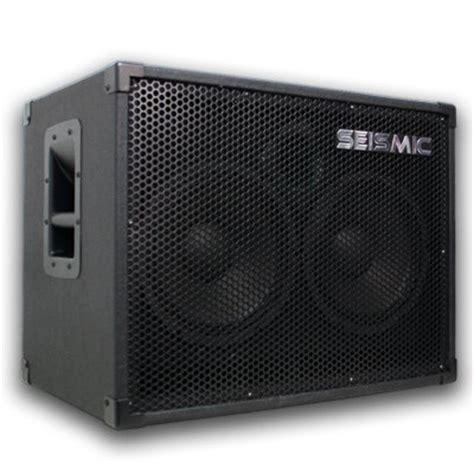 Speaker Cabinet Volume by Best Seismic Audio 210 Bass Guitar Speaker Cabinet With