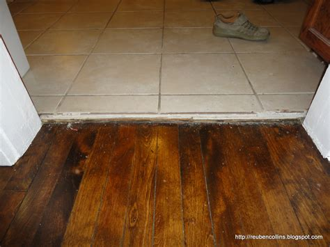 hardwood floor threshold