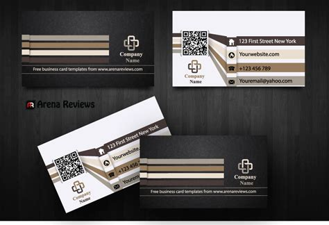 free advertising business card template free modern graphic design business card