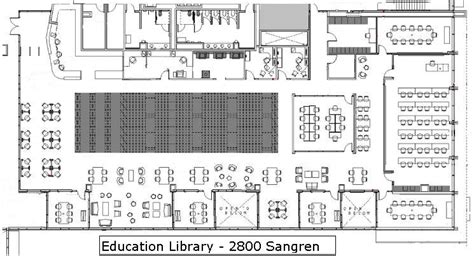 Floor Layout Design by Building Maps University Libraries Western Michigan