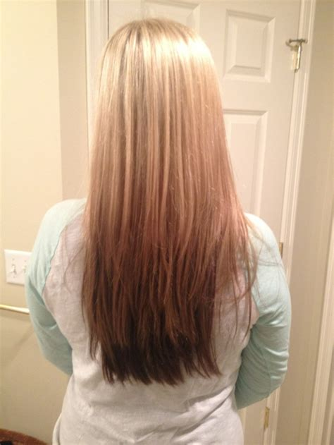 reverse ombre pics of reverse ombre hairstylegalleries com