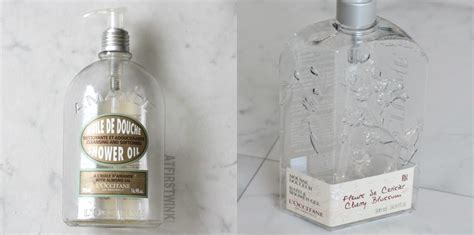 Loccitane Almond Shower 500 Ml emptied l occitane cherry blossom shower gel and almond shower