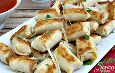 Come With Me Bachelorette Meaty Appetizers by Crispy Baked Wonton Cheese Bites