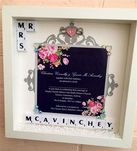 1000 ideas about wedding invitation keepsake on framed wedding invitations wedding