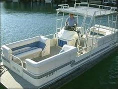 used pontoon boat with upper deck 1000 images about upper decks on pontoon boats on