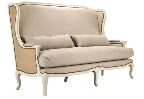 High Back Wing Sofa by Antique Sofa High Back Wing Sofa Wedding Seat