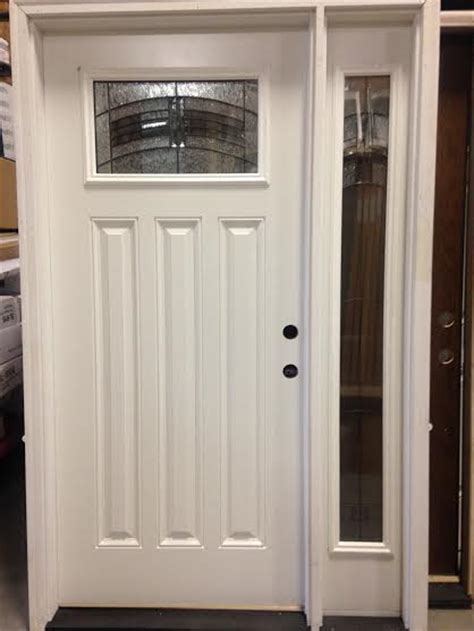 Overstock Exterior Doors Overstock Feather River Exterior Door W One Sidelight