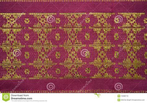 Songket Palembang Multi Colour 8 songket palembang stock photo image 10398110