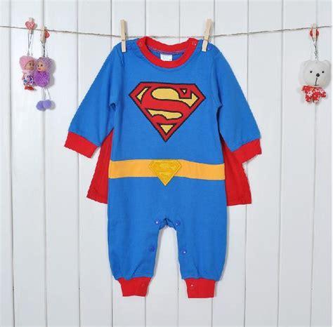 Romper Batman 1 Set 1 set sleeve baby boy superman romper with dress smock infant romper baby costume one