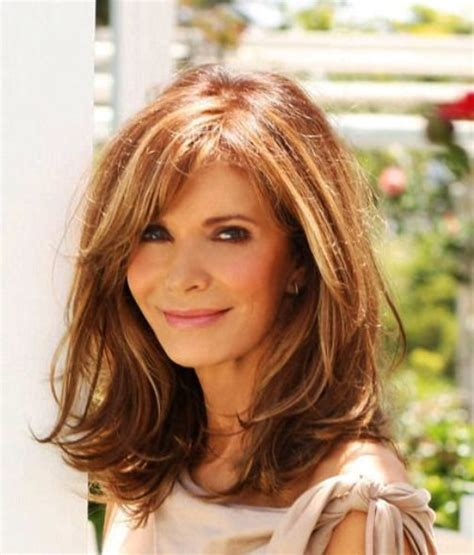 images 50 plus mature women shoulder lentgh brunette top modell frisuren damen ab 50 modesonne