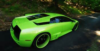 Lamborghini Green Green Lamborghini Murcielago Photo On Automoblog Net