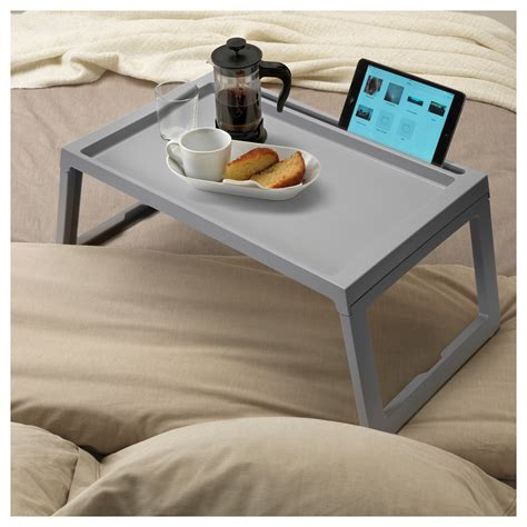 ikea bed table tray klipsk bed tray grey ikea