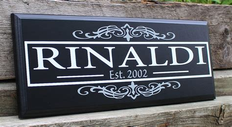Personalized Wood Signs Home Decor Custom Wood Sign Home Decor Wood Wedding Gift Personalized