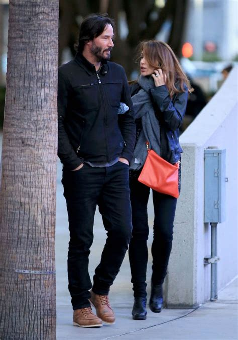 claire forlani dating history smiling keanu reeves at the who concert in la with