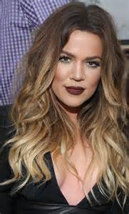 khloe hair color looks for summer khloe