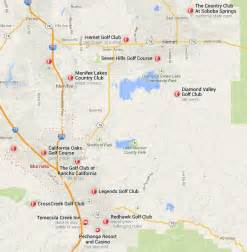 murrieta california area golf courses map