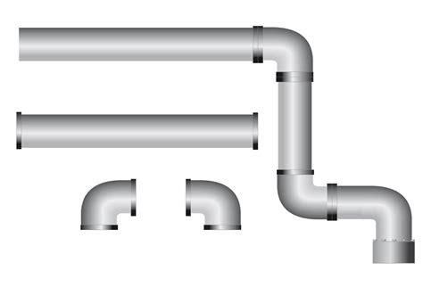 Black Water Plumbing by Pipe Vector Pack