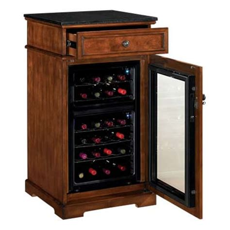 Refrigerated Wine Cabinet by Tresanti Refrigerated Wine Cabinet Cherry And