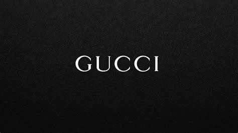 wallpaper black logo download 3840x2160 gucci white logo on black background