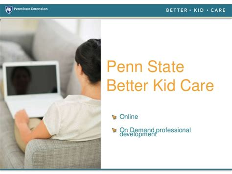 Psu Healthcare Mba Requirements by Ccdbg Health And Safety Basics Requirements For