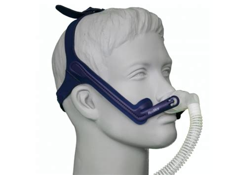 resmed lt nasal pillow cpap mask with headgear