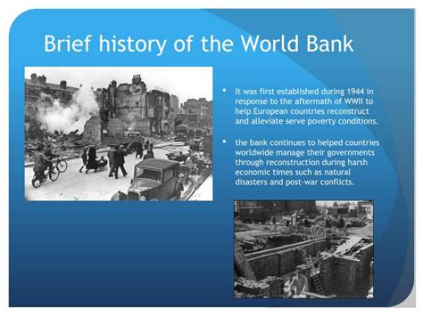 history world bank ppt the world bank org inter american development