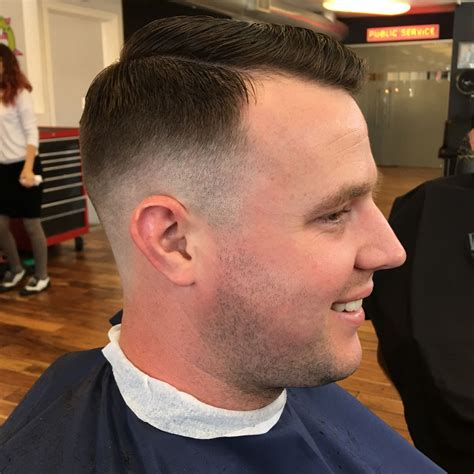 military haircuts in colorado springs this low skin fade was done with a razor about 1 3 the way