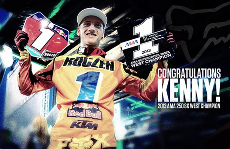 What Happened To Kenny Pfitzer From West Coast Customs by Ken Roczen 2013 Ama 250sx West Coast Chion Moto