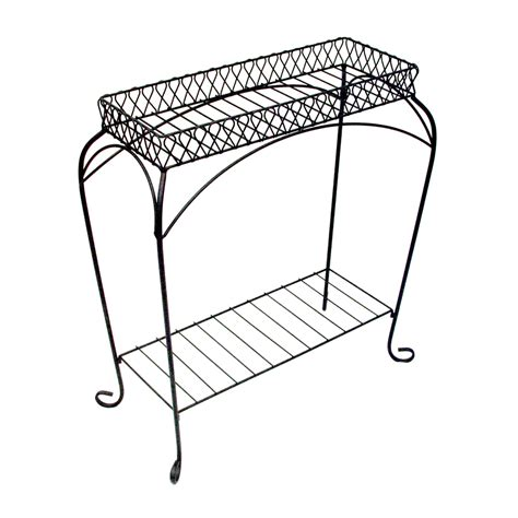 Patio Plant Stand by Shop Patio Nottingham 30 In Black Indoor Outdoor