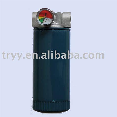 hydraulic filter housing