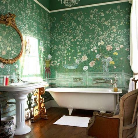 Bad Mit Tapete by Designer Tapeten Und Wanddekoration F 252 Rs Badezimmer