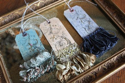 romancing the home gift tags with fringe benefits