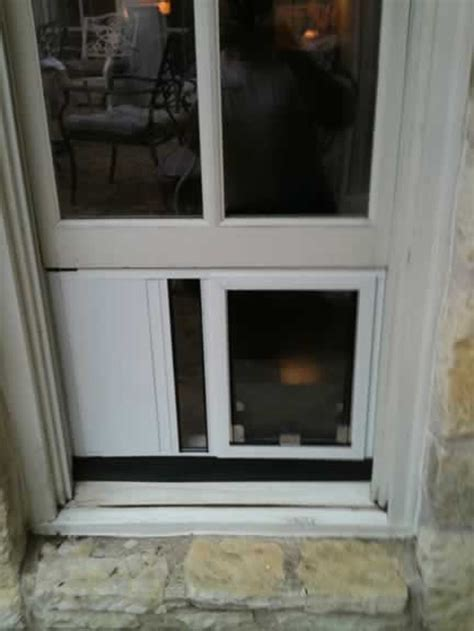 Pet Doors For Windows by Doogie Doors Received By The Microphone Only When