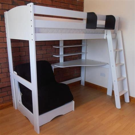 loft bed with desk and futon chair best 20 futon chair bed ideas on chair bed
