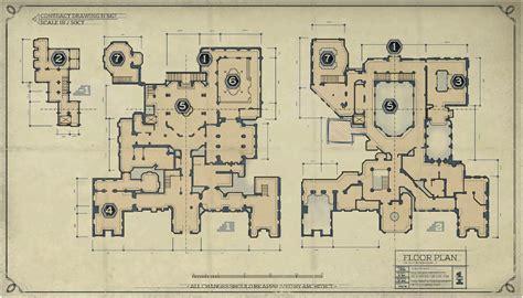 Dishonored 2 Stilton Manor Third Floor - image stilton manor floor plan png dishonored wiki