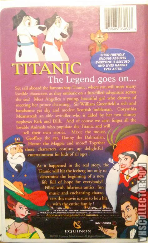 titanic film animated titanic the animated movie vhscollector com your