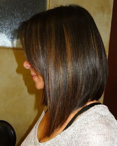 long aline bob pics 26 a line bob hairstyles we love styles weekly