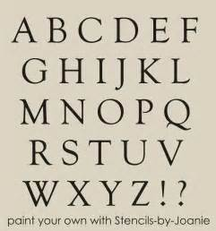 country style lettering stencil alphabet 1 5 quot caps goudy style country