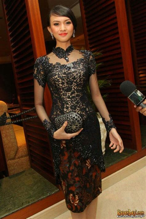 Sabrina Hitam 771 best images about kebaya on