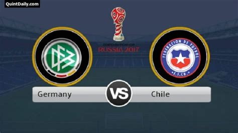 mexico vs germany last match result germany vs chile fifa confederations cup 2017 match