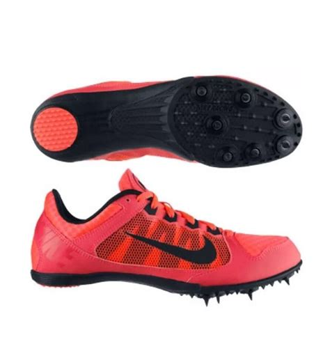 track running shoes nike new nike 616312 600 zoom rival md 7 running track shoes