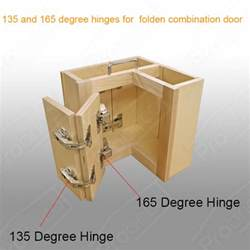 Kitchen Corner Cabinet Hardware 165 135 Corner Folded Combination Kitchen Cabinet Door