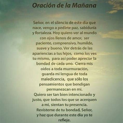 oracion de la manana 17 best images about oraciones on pinterest te amo tes