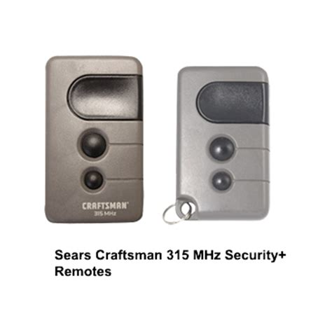 Craftsman Garage Door Remotes Garage Door Opener Remote Craftsman Garage Door Opener Remote 315