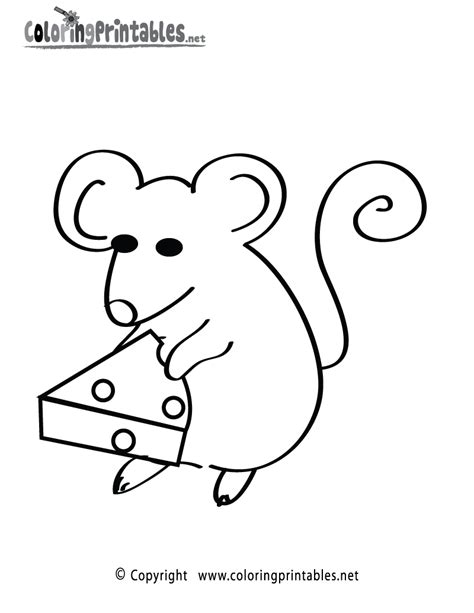 free coloring pages of mice