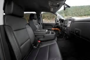 2015 chevrolet silverado 2500hd ltz front interior seats
