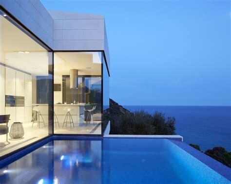 modern hillside coastal home  spain  magnificent