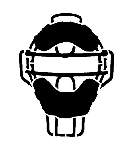 Catcher Mask Clipart 7chudesinfo