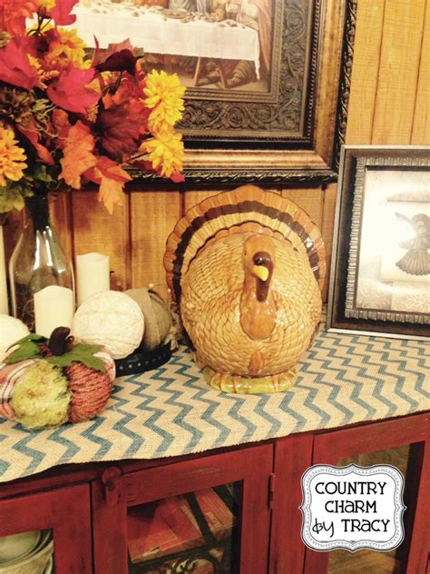 my primitive country thanksgiving decor 2014